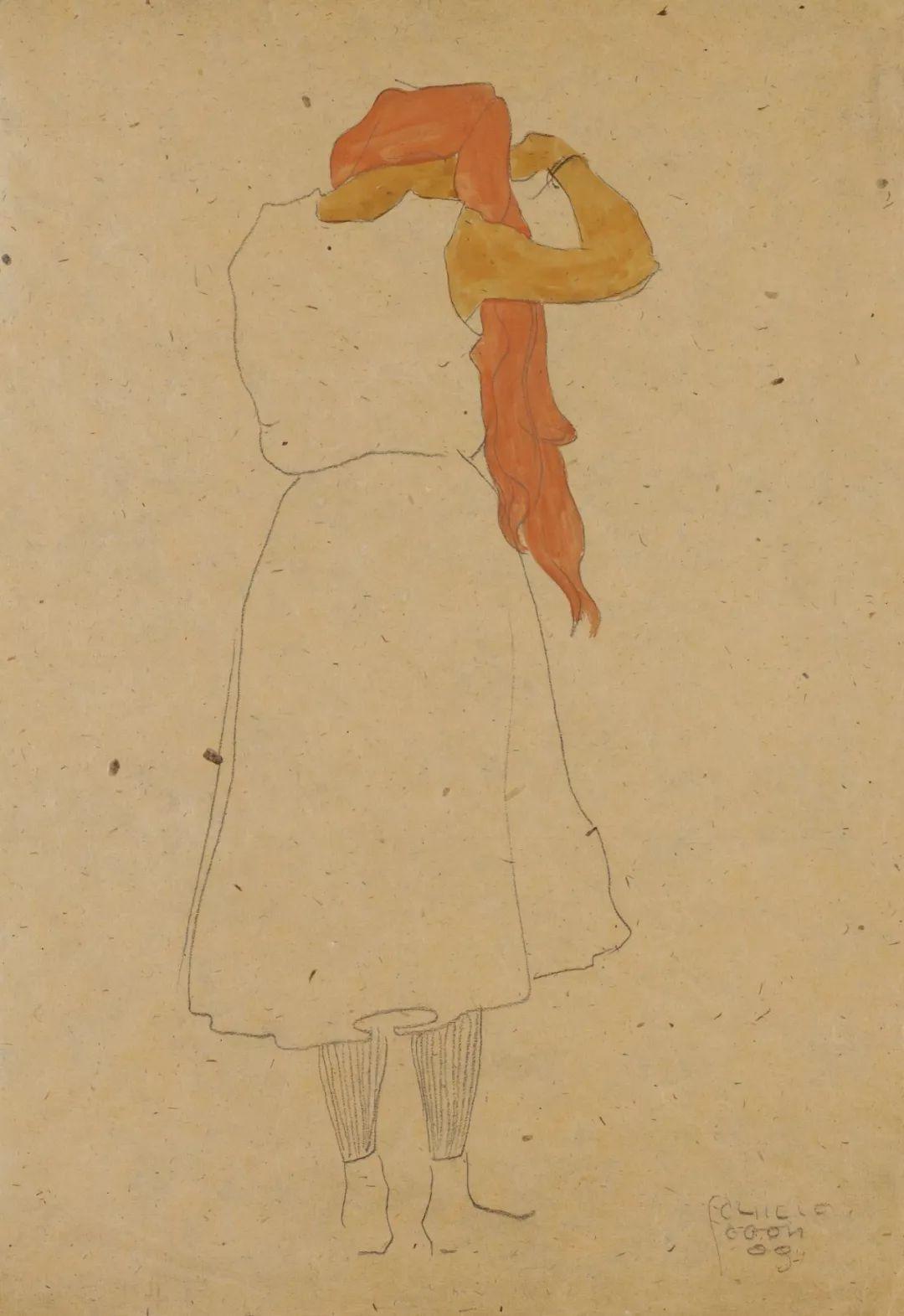 年仅28岁,生前遭受非议,死后却被捧为直逼心灵的艺术家插图73