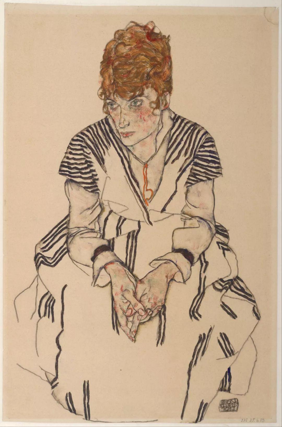 年仅28岁,生前遭受非议,死后却被捧为直逼心灵的艺术家插图81