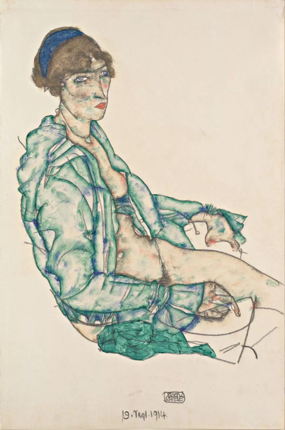 年仅28岁,生前遭受非议,死后却被捧为直逼心灵的艺术家插图87