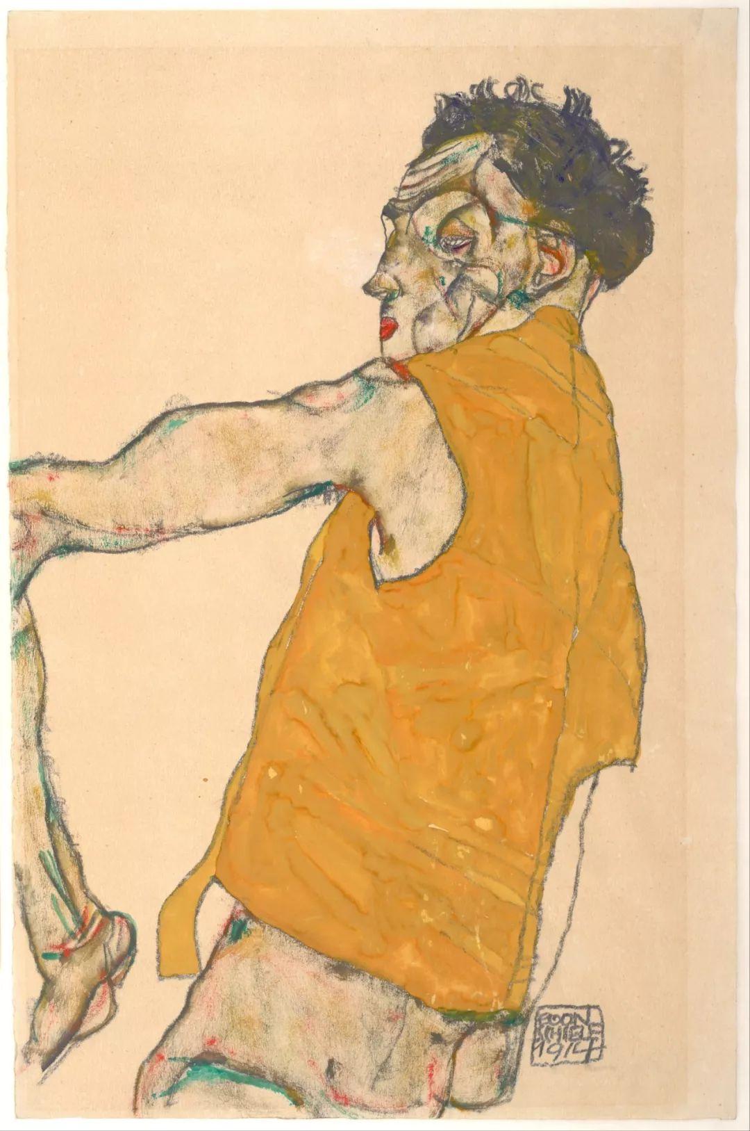 年仅28岁,生前遭受非议,死后却被捧为直逼心灵的艺术家插图99