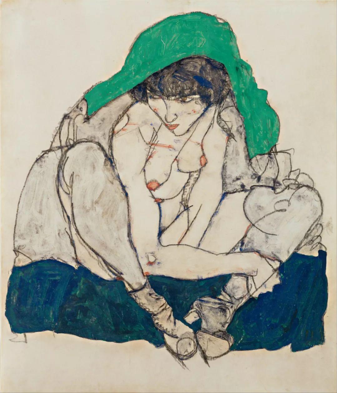 年仅28岁,生前遭受非议,死后却被捧为直逼心灵的艺术家插图103