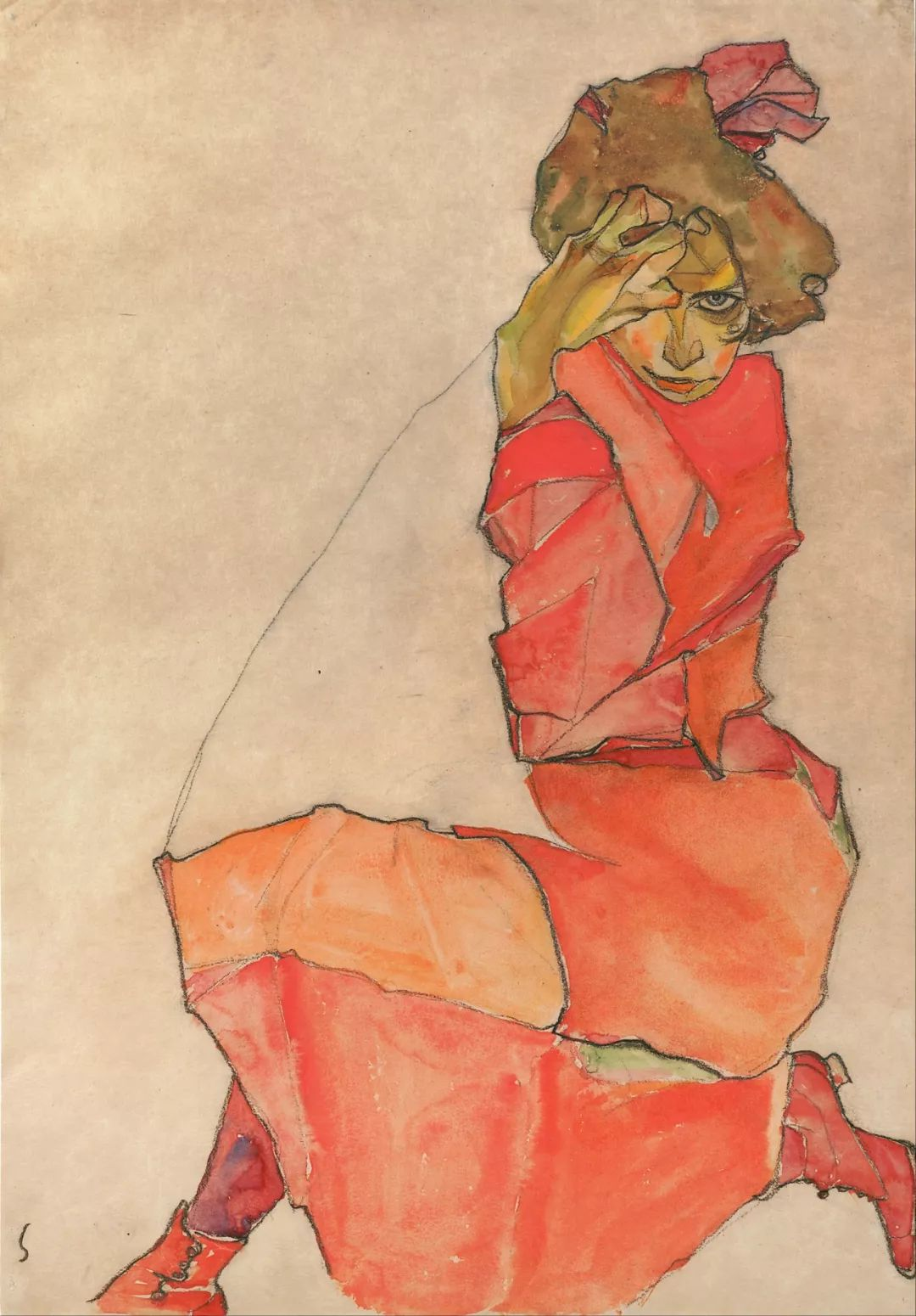 年仅28岁,生前遭受非议,死后却被捧为直逼心灵的艺术家插图113