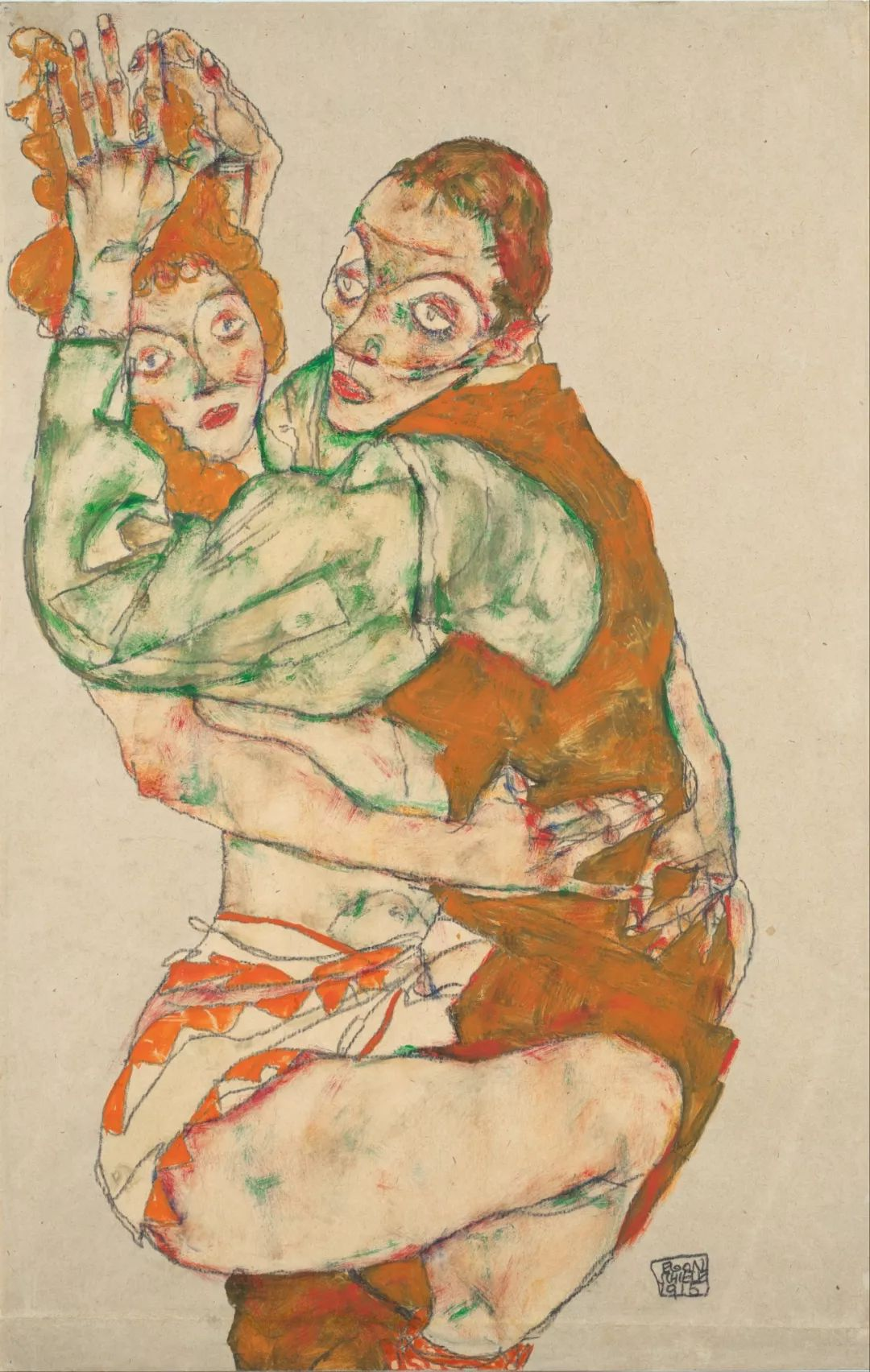 年仅28岁,生前遭受非议,死后却被捧为直逼心灵的艺术家插图119