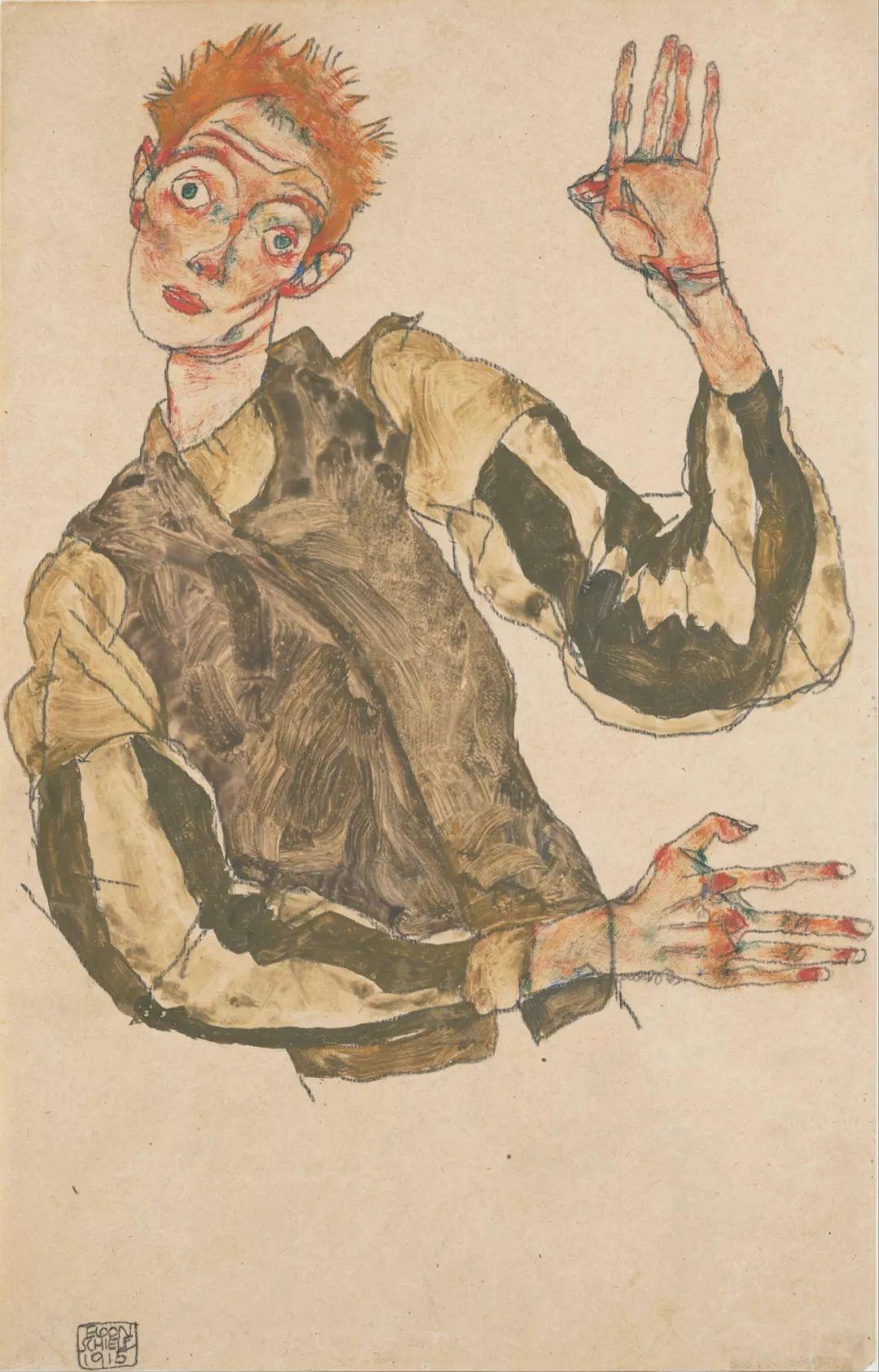 年仅28岁,生前遭受非议,死后却被捧为直逼心灵的艺术家插图121