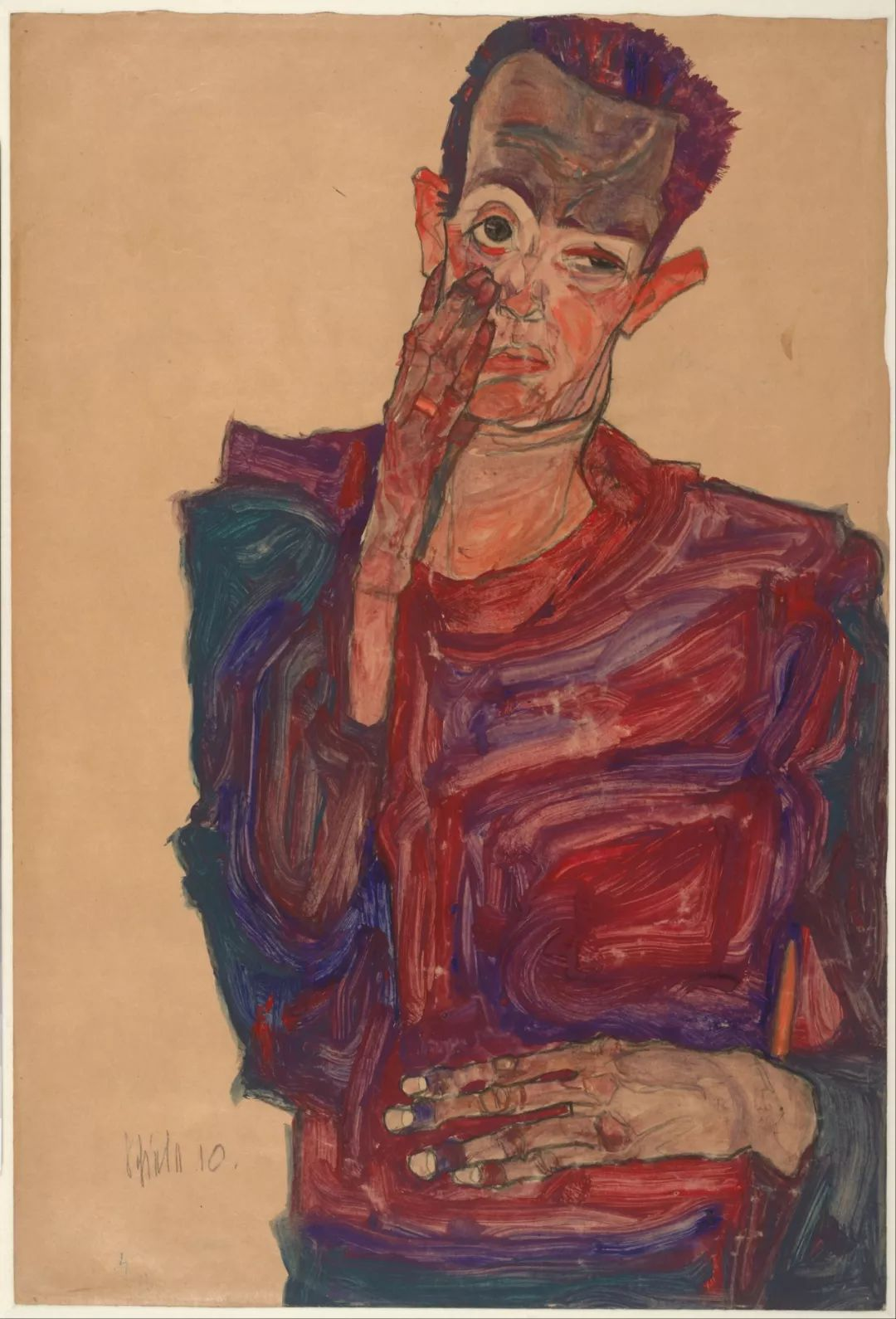 年仅28岁,生前遭受非议,死后却被捧为直逼心灵的艺术家插图127