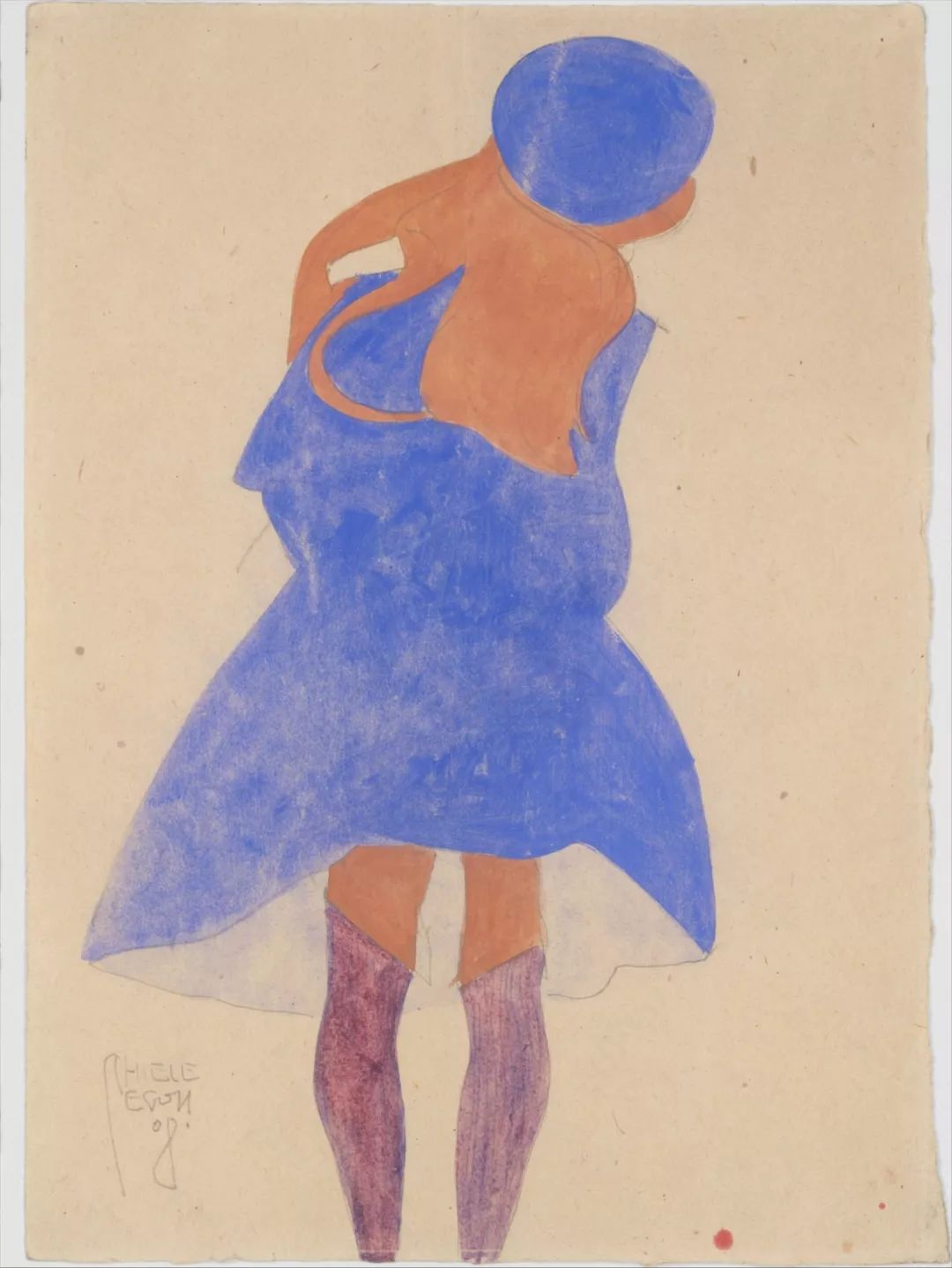 年仅28岁,生前遭受非议,死后却被捧为直逼心灵的艺术家插图133