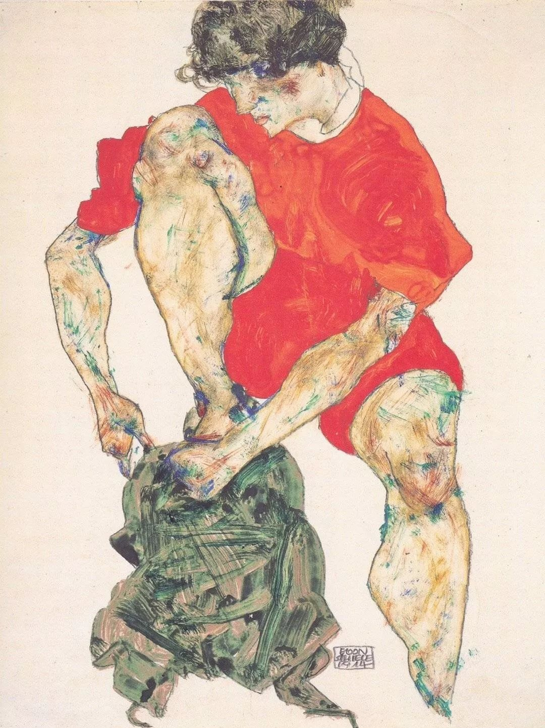 年仅28岁,生前遭受非议,死后却被捧为直逼心灵的艺术家插图141