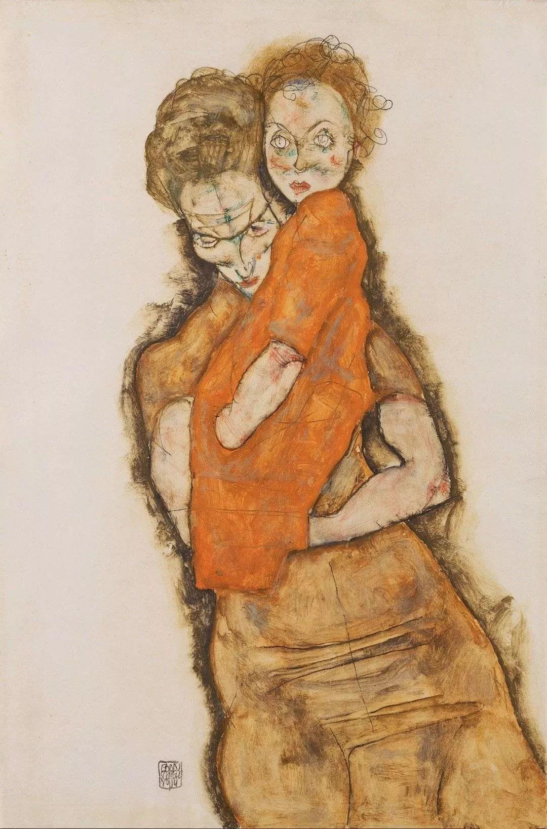 年仅28岁,生前遭受非议,死后却被捧为直逼心灵的艺术家插图143