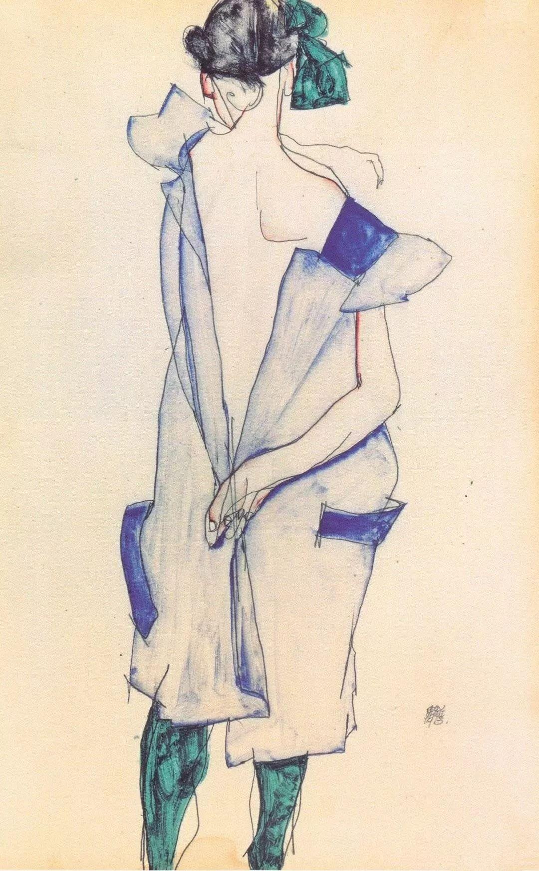 年仅28岁,生前遭受非议,死后却被捧为直逼心灵的艺术家插图147