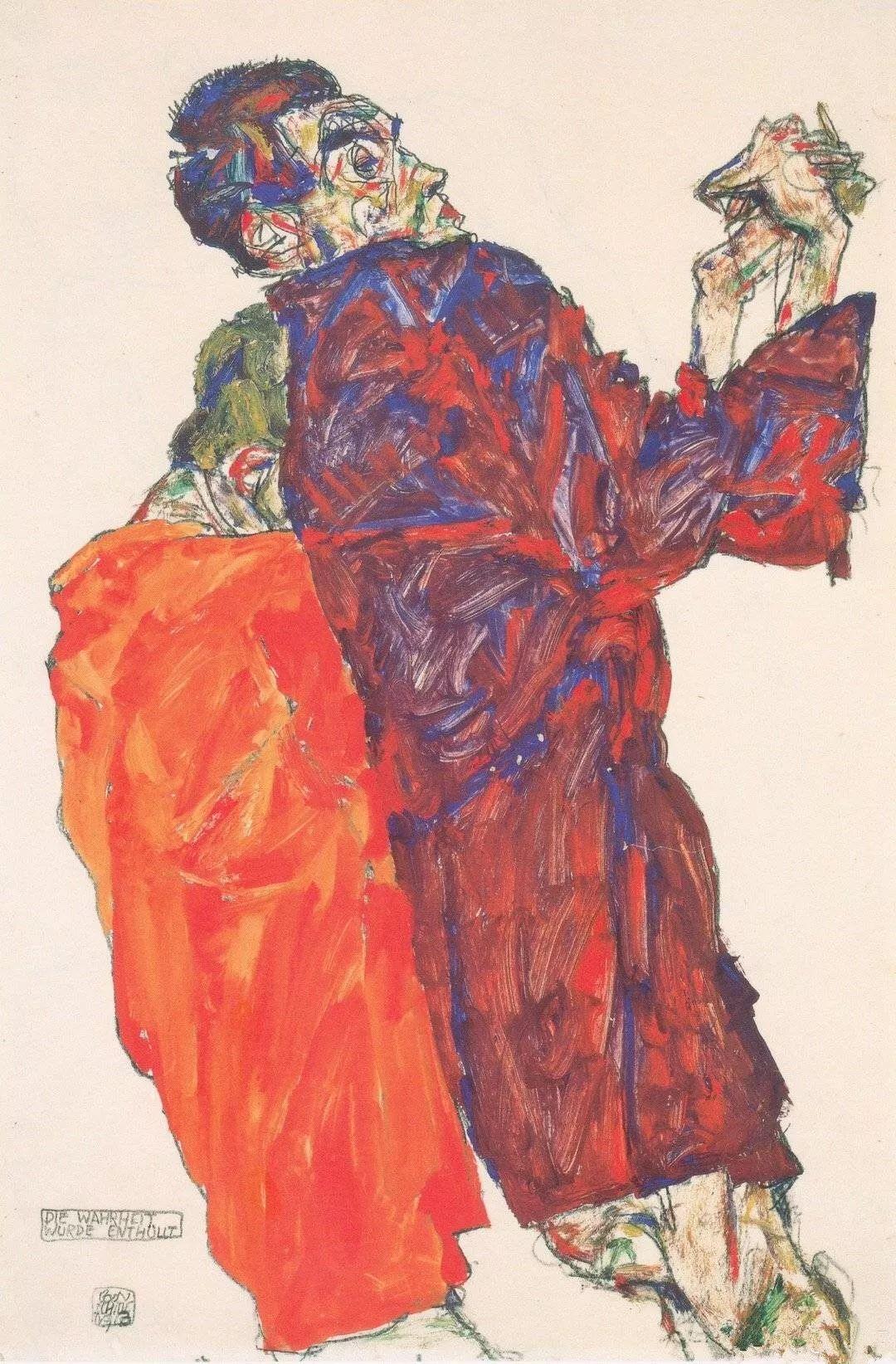 年仅28岁,生前遭受非议,死后却被捧为直逼心灵的艺术家插图151