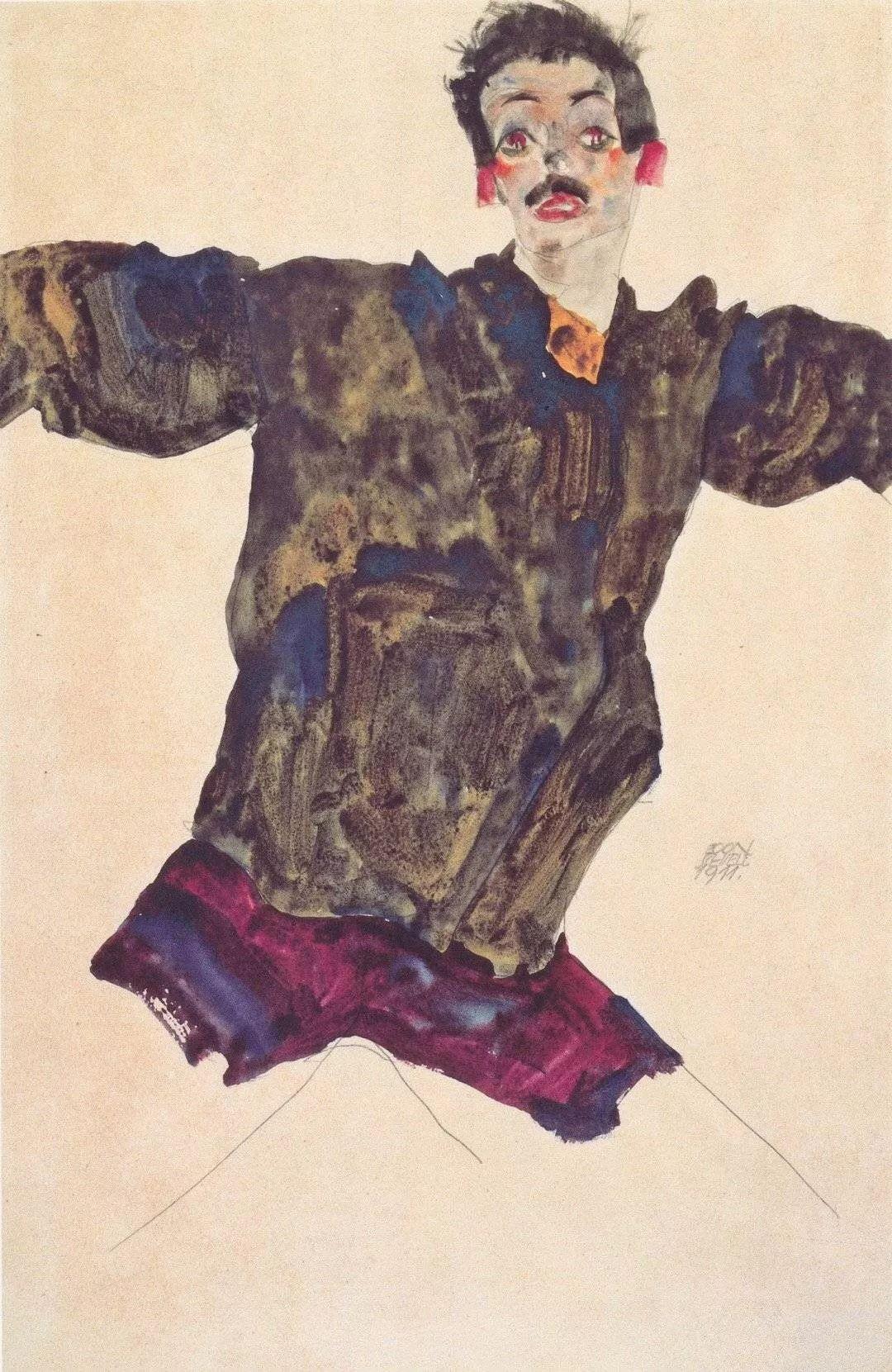年仅28岁,生前遭受非议,死后却被捧为直逼心灵的艺术家插图153