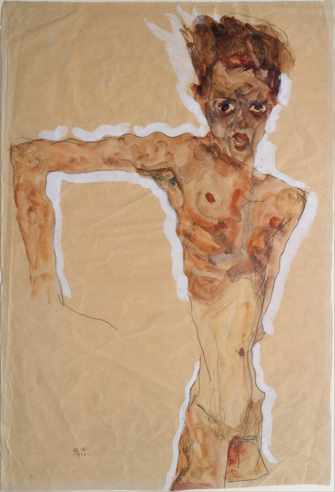 年仅28岁,生前遭受非议,死后却被捧为直逼心灵的艺术家插图161