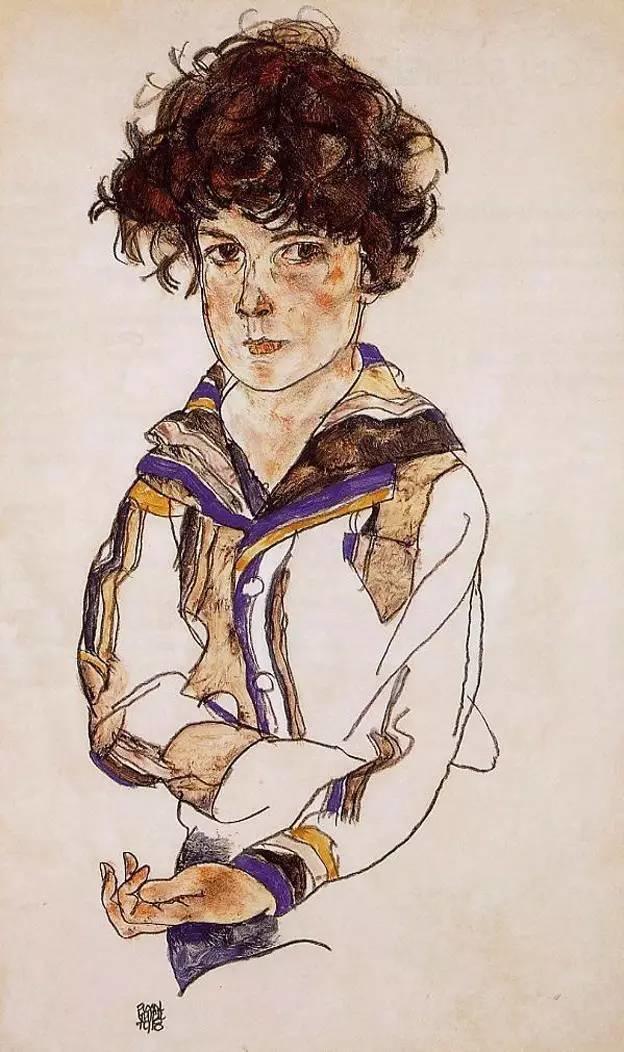 年仅28岁,生前遭受非议,死后却被捧为直逼心灵的艺术家插图193