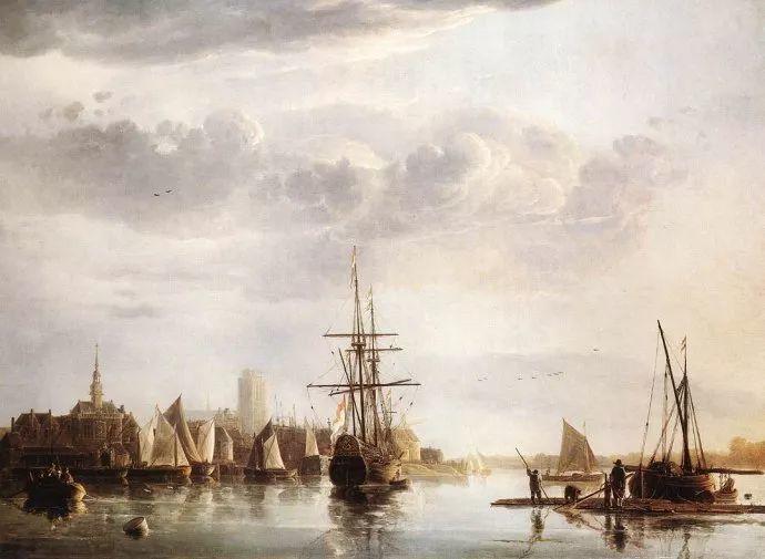 荷兰黄金时代的风景画家——阿尔伯特·克伊普插图1