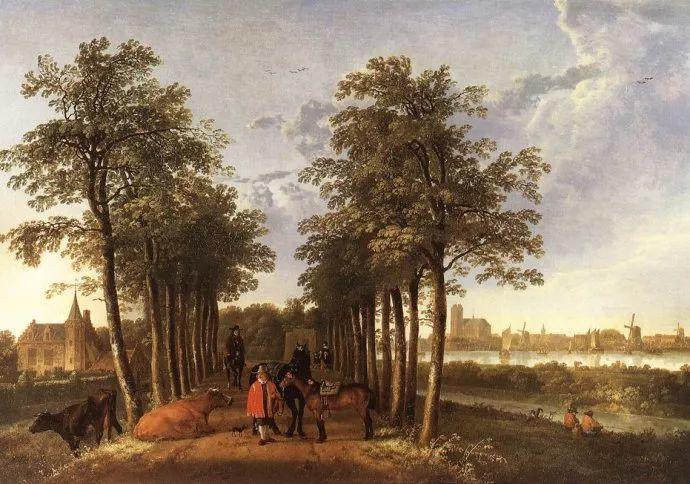 荷兰黄金时代的风景画家——阿尔伯特·克伊普插图11