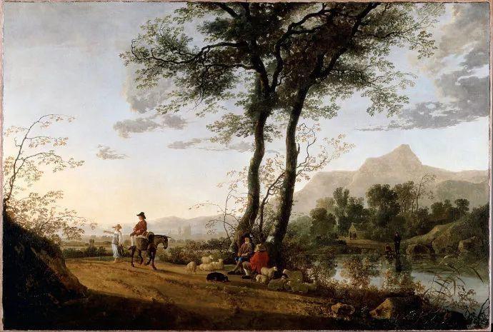 荷兰黄金时代的风景画家——阿尔伯特·克伊普插图17