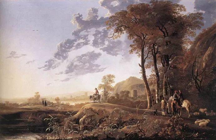 荷兰黄金时代的风景画家——阿尔伯特·克伊普插图33