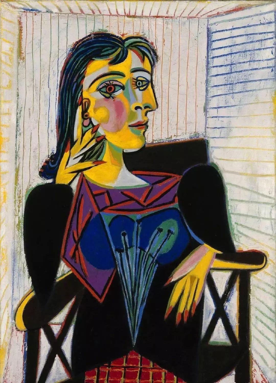 毕加索笔下的抽象爱人插图1