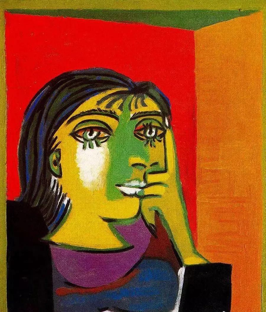 毕加索笔下的抽象爱人插图15