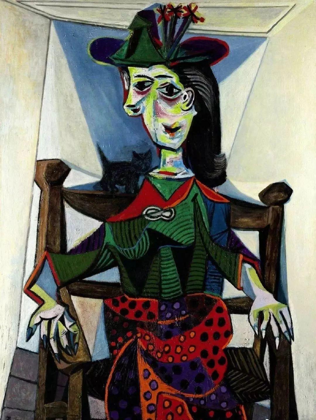 毕加索笔下的抽象爱人插图19