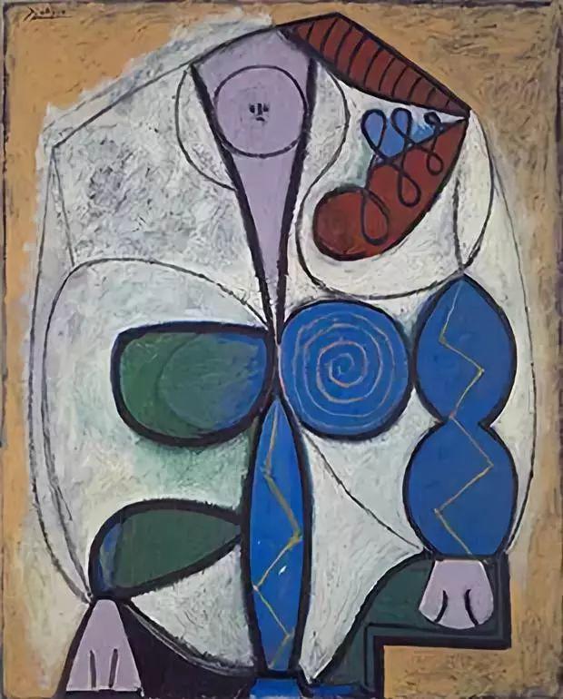 毕加索笔下的抽象爱人插图35
