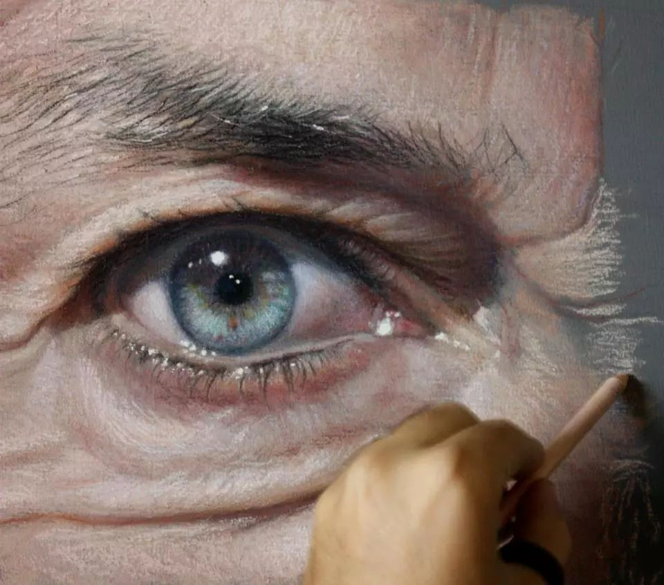 超写实色粉笔画作——Ruben belloso adorna插图23