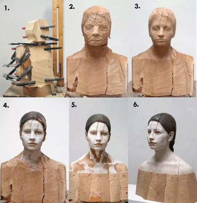 他硬把一桩桩木头弄成人体女神,惊艳世界,首次来中国就轰动美院插图41