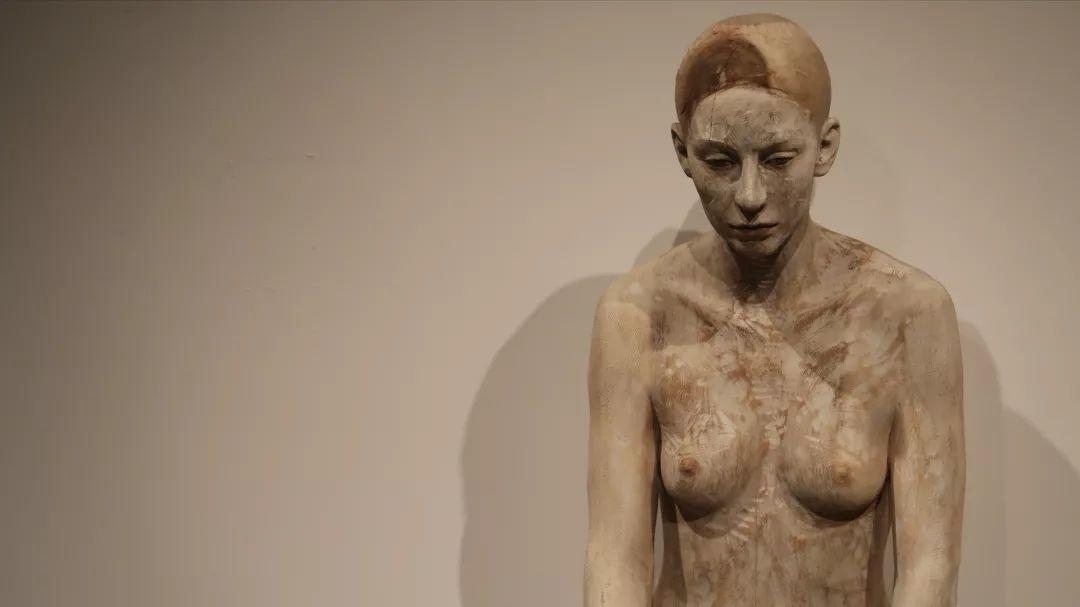 他硬把一桩桩木头弄成人体女神,惊艳世界,首次来中国就轰动美院插图78