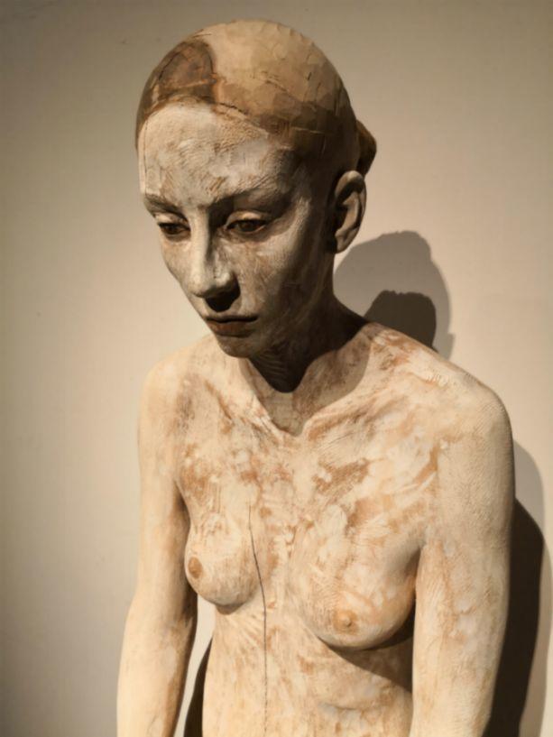 他硬把一桩桩木头弄成人体女神,惊艳世界,首次来中国就轰动美院插图95
