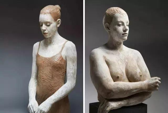 他硬把一桩桩木头弄成人体女神,惊艳世界,首次来中国就轰动美院插图111