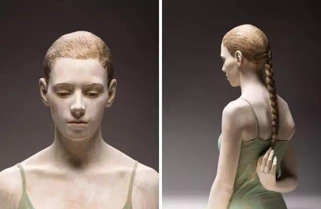 他硬把一桩桩木头弄成人体女神,惊艳世界,首次来中国就轰动美院插图123