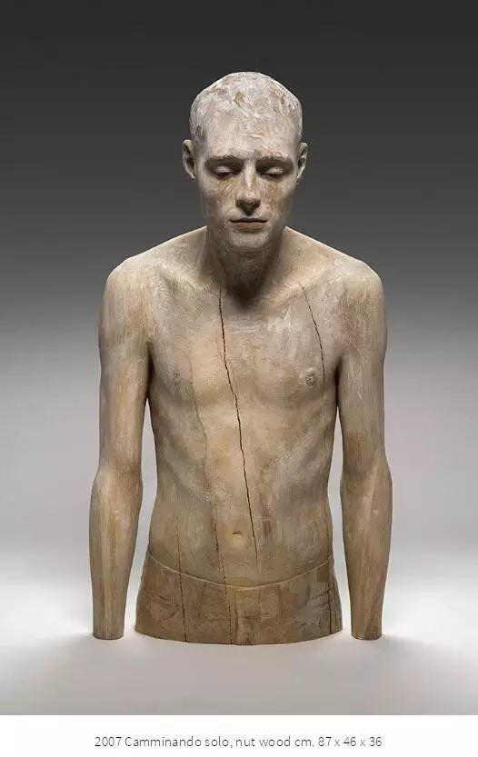 他硬把一桩桩木头弄成人体女神,惊艳世界,首次来中国就轰动美院插图162