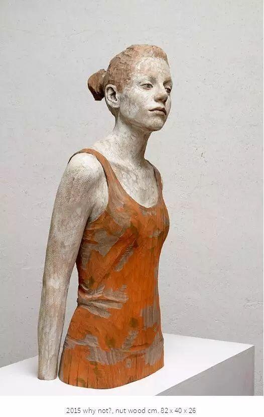 他硬把一桩桩木头弄成人体女神,惊艳世界,首次来中国就轰动美院插图164