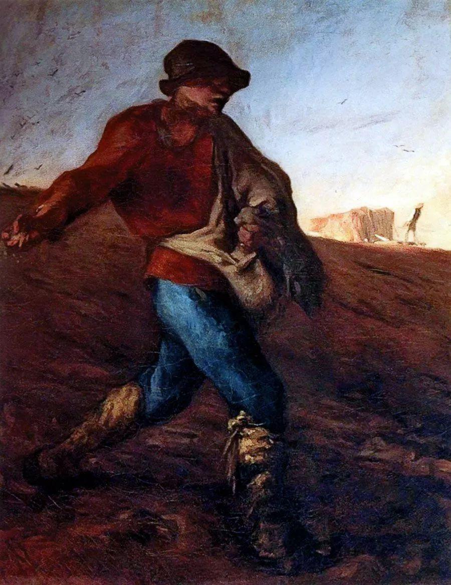 No.44 米勒   19世纪法国最伟大的田园画家插图3