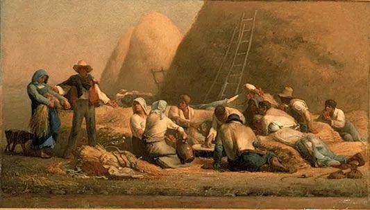 No.44 米勒   19世纪法国最伟大的田园画家插图11