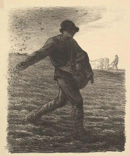 No.44 米勒   19世纪法国最伟大的田园画家插图49