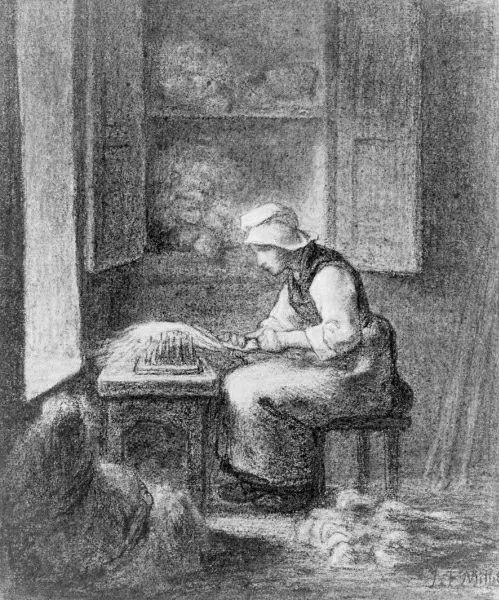 No.44 米勒   19世纪法国最伟大的田园画家插图55