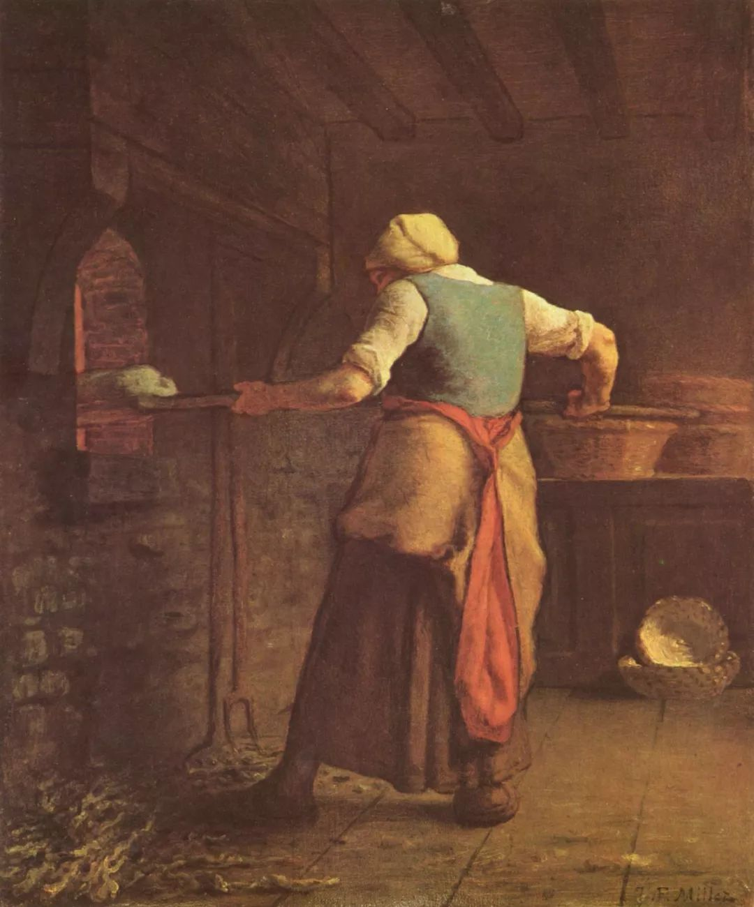 No.44 米勒   19世纪法国最伟大的田园画家插图57