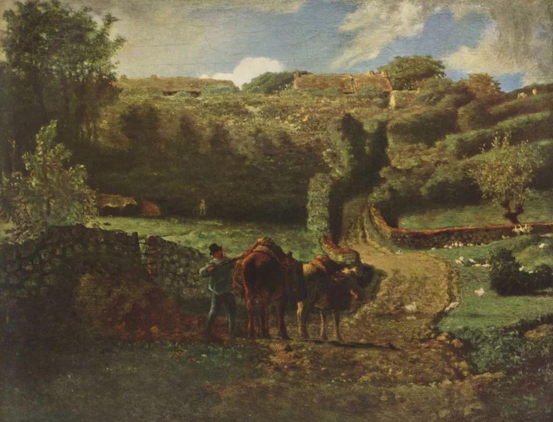 No.44 米勒   19世纪法国最伟大的田园画家插图59