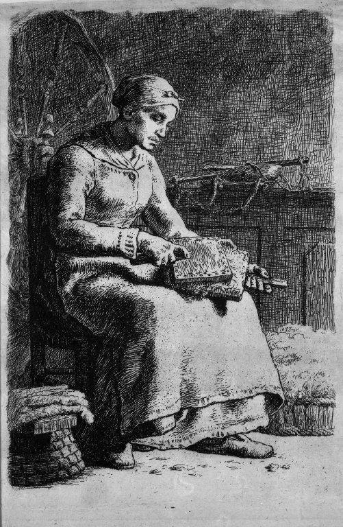 No.44 米勒   19世纪法国最伟大的田园画家插图63
