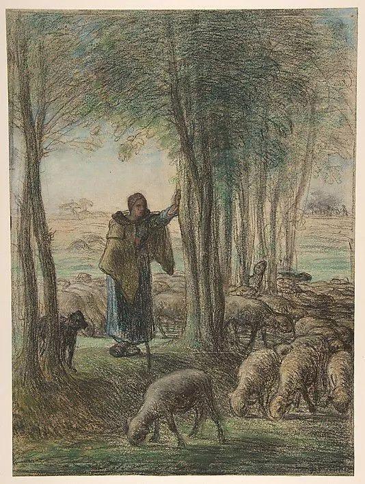 No.44 米勒   19世纪法国最伟大的田园画家插图65