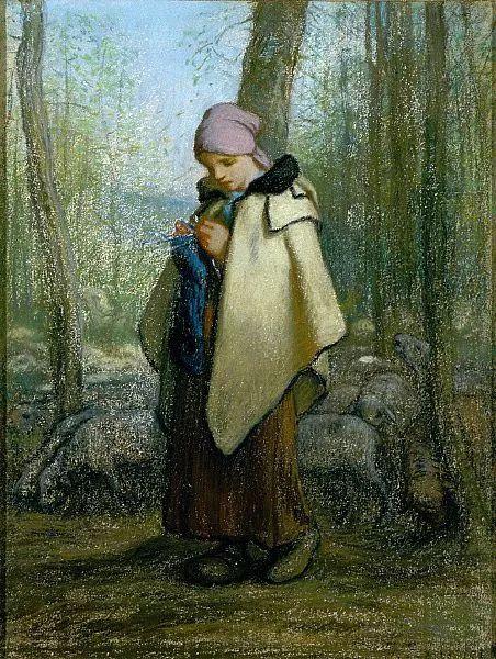 No.44 米勒   19世纪法国最伟大的田园画家插图69