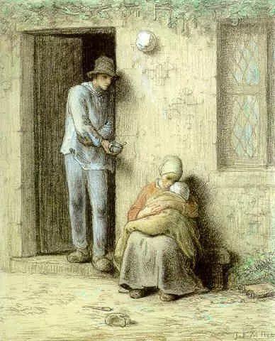 No.44 米勒   19世纪法国最伟大的田园画家插图71