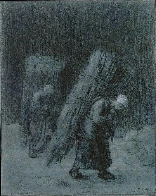 No.44 米勒   19世纪法国最伟大的田园画家插图73