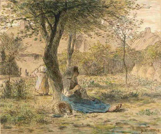 No.44 米勒   19世纪法国最伟大的田园画家插图85