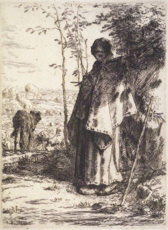No.44 米勒   19世纪法国最伟大的田园画家插图87