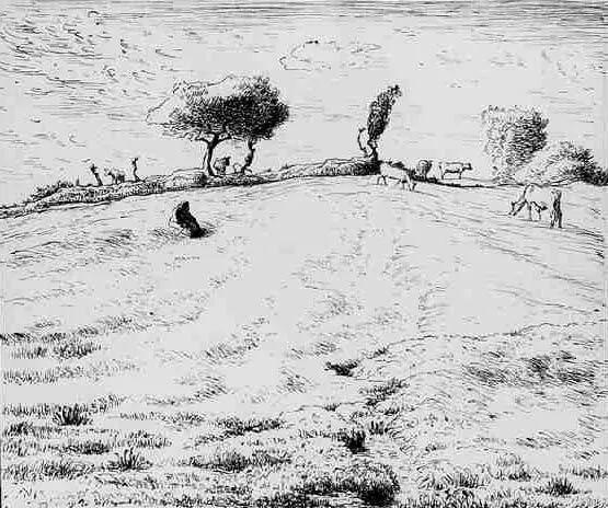 No.44 米勒   19世纪法国最伟大的田园画家插图129