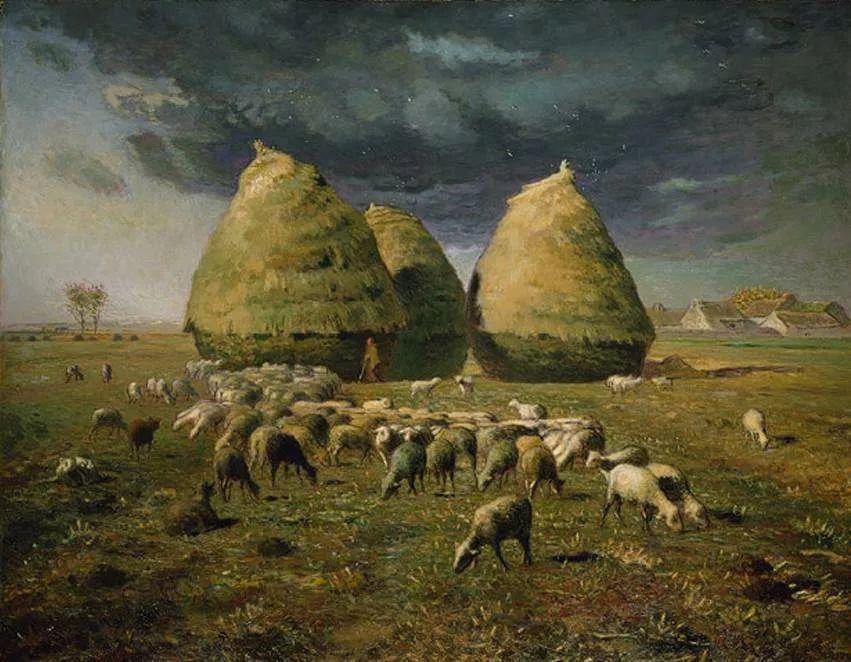 No.44 米勒   19世纪法国最伟大的田园画家插图135