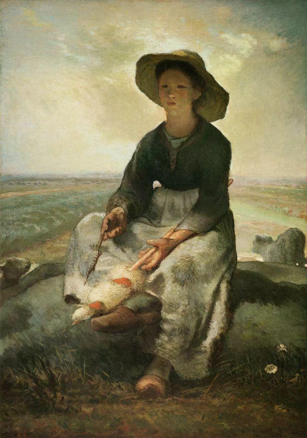 No.44 米勒   19世纪法国最伟大的田园画家插图141