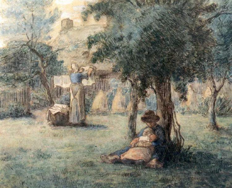 No.44 米勒   19世纪法国最伟大的田园画家插图169